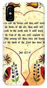 Fraktur-ask The Beasts IPhone Case