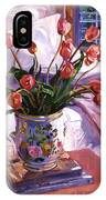 Fresh Tulips IPhone Case