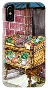 Fruit And Vegetable Stand In Nice, France IPhone Case