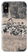 Gettysburg Confederate Infantry 9270s IPhone Case