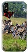 Gettysburg Confederate Infantry 9281c IPhone Case