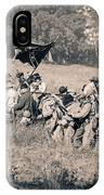Gettysburg Confederate Infantry 9281s IPhone Case