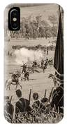 Gettysburg Union Artillery And Infantry 7457s IPhone Case