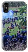 Gettysburg Union Artillery And Infantry 7459c IPhone Case