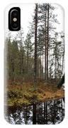 Haukkajoki Panorama 2 IPhone Case