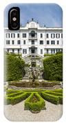 Lake Como,villa Carlotta, Italy IPhone Case