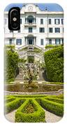 Lake Como,villa Carlotta, Italy IPhone Case