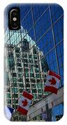 Modern Architecture - City Reflection Vancouver  IPhone Case