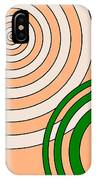 Peach And Curves IPhone Case