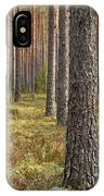 Pine Forest IPhone Case
