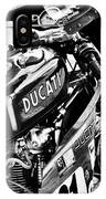 Racing Ducati Monochrome IPhone Case