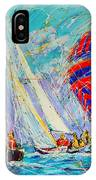 Sail Of Amsterdam II - Tree Sailboats  IPhone Case