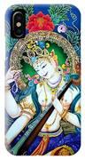 Saraswati 2 IPhone Case
