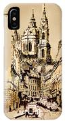 St. Nicholas Church In Prague IPhone Case