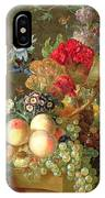 Still Life With Auriculus  IPhone Case