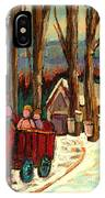 Sugar Shack IPhone Case