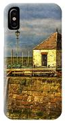 The Harbour At Maryport IPhone Case