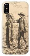 The Peasant Family IPhone Case