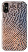 Tracks At First Light In Death Valley IPhone Case