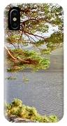 Warmth  Of The Pine Branch. IPhone Case