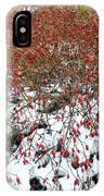Winter Harvest 2 IPhone Case
