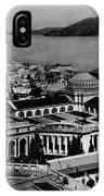 Worlds Fair San Francisco 1915 Black White 1910s IPhone Case