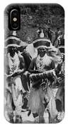 Yurok Indians In Ceremonial Costumes Circa 1905 IPhone Case