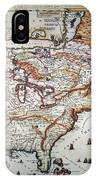 New France, 1719 IPhone Case