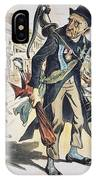 Prohibition  Cartoon, 1889 IPhone Case
