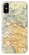 Austrian Empire Map, 1795 IPhone Case