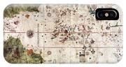 Nina: World Map, 1500 IPhone Case