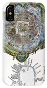 Tenochtitlan (mexico City) IPhone Case