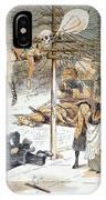 Electricity Cartoon, 1889 IPhone Case