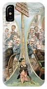 Business Cartoon, 1904 IPhone Case