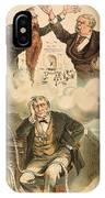 Cartoon: Panic Of 1893 IPhone Case