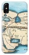 Strabo World Map, C20 A.d IPhone Case