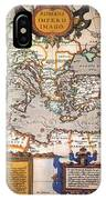 Map Of The Roman Empire IPhone Case