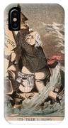 Beecher Cartoon, 1885 IPhone Case