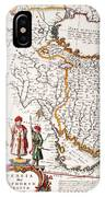 Mesopotamia, 1662 IPhone Case