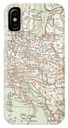 Map Of Europe, C1812 IPhone Case