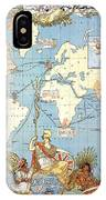 Map: British Empire, 1886 IPhone Case