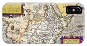 African Map, 1595 IPhone Case