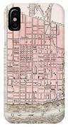 Cincinnati, Ohio, 1837 IPhone Case