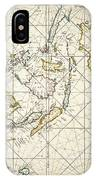 Map: East Indies, 1670 IPhone Case