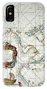 East Indies Map, 1670 IPhone Case