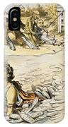Free Silver Cartoon, 1890 IPhone Case