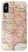 Map: United States, 1905 IPhone Case