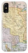 Map: U.s. Expansion, 1905 IPhone Case