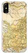 Map: China, 1910 IPhone Case