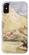 Promontory Point, 1869 IPhone Case